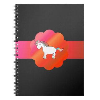Unicornio lindo libretas