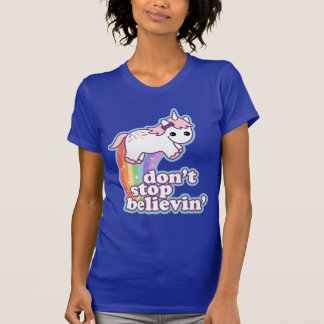 Unicornio lindo camiseta