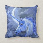 Unicornio lunar cojín