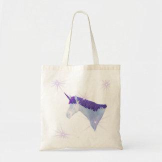 Unicornio mágico de la fantasía bolsas de mano