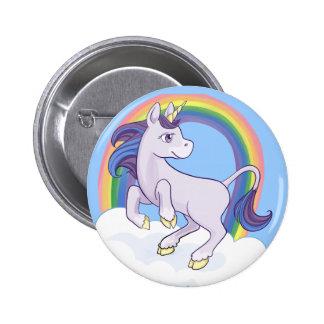 Unicornio mágico lindo del arco iris pins