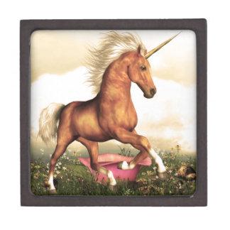 Unicornio magnífico cajas de recuerdo de calidad