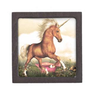 Unicornio magnífico caja de joyas de calidad