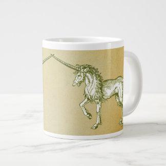 Unicornio medieval taza grande