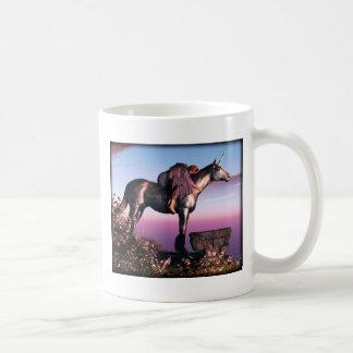 Unicornio negro taza