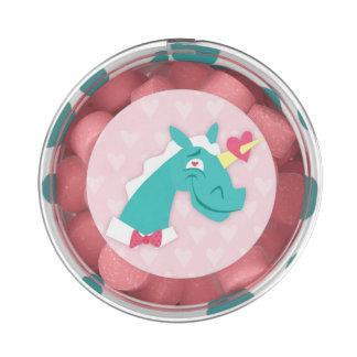 Unicornio pegado por el amor