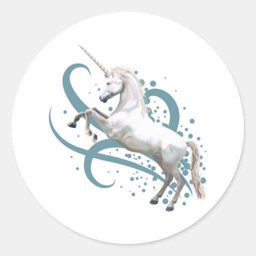 unicornio pegatinas