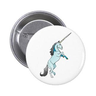 Unicornio Pin Redondo De 2 Pulgadas