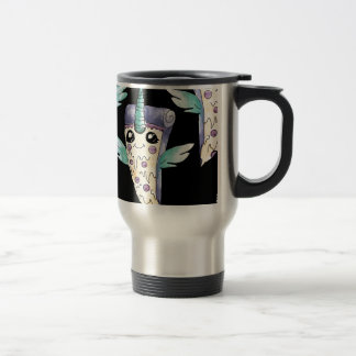 unicornio pizza 2 travel mug