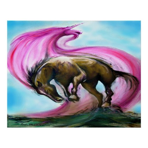 Unicornio Poster