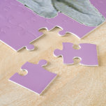 Unicornio púrpura - crea rompecabeza