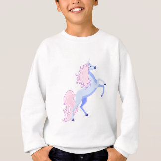 unicornio rosado bonito de la melena remera