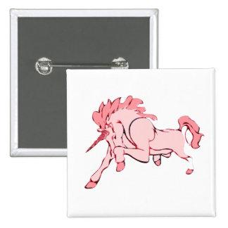 Unicornio rosado pin