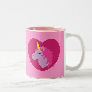 Unicornio rosado taza