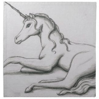 Unicornio Servilleta Imprimida