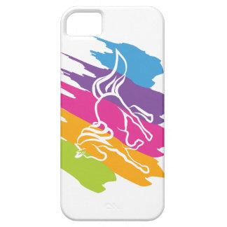 Unicornio Spash Funda Para iPhone 5 Barely There