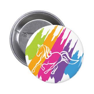 Unicornio Spash Pin Redondo De 2 Pulgadas