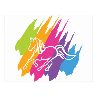 Unicornio Spash Postales