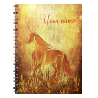 Unicornio Spiral Notebooks