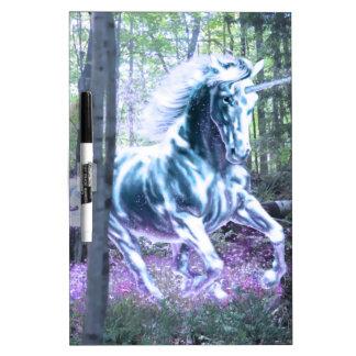 unicornio tablero blanco