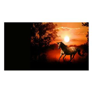 Unicornio Tarjetas De Negocios