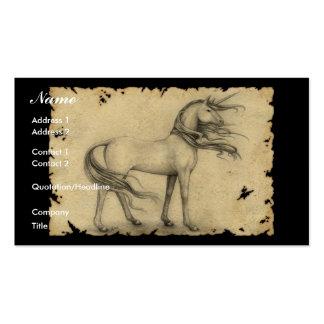 Unicornio Tarjetas De Visita