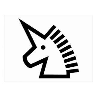 Unicornio Tarjetas Postales