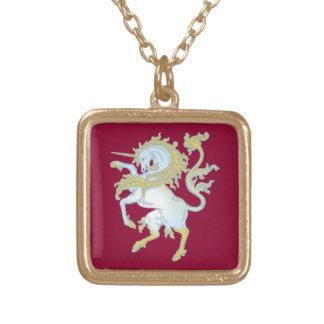 Unicornio unicorn colgante cuadrado