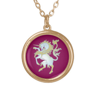 Unicornio unicorn colgante redondo