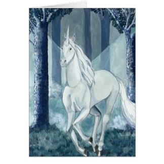 Unicornio - unicorn tarjeta pequeña