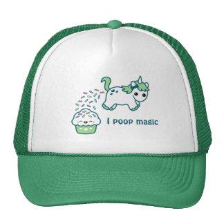 Unicornio verde de Pooping Gorro