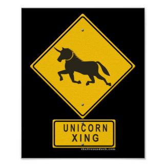Unicornio XING Posters