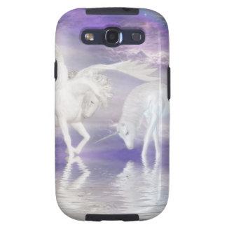Unicornio y fantasía hermosos de Pegaso Samsung Galaxy S3 Coberturas