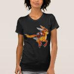 Unicornio y gato camiseta