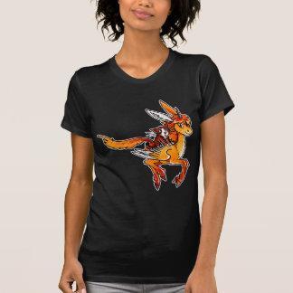 Unicornio y gato tee shirts