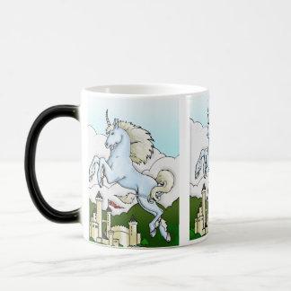 Unicornio y la taza de consumición de los niños de