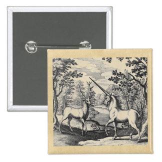 Unicornio y macho pin