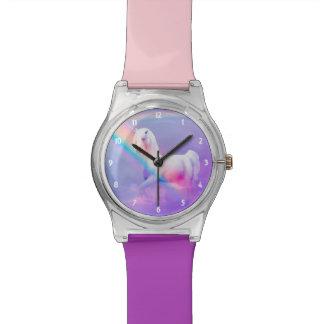 Unicornio y reloj del arco iris May28th