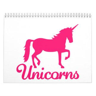 Unicornios Calendarios De Pared
