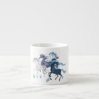 Unicornios corrientes, taza del café express taza espresso