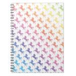 Unicornios del arco iris cuadernos