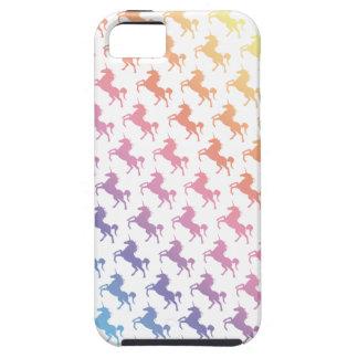 Unicornios del arco iris iPhone 5 cárcasa