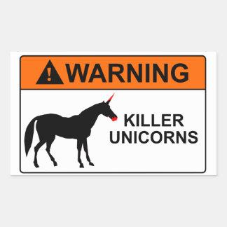 Unicornios del asesino rectangular altavoz