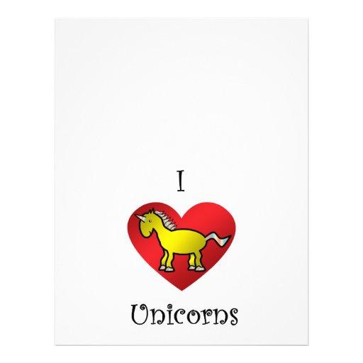 Unicornios del corazón I en oro y arco iris Tarjetas Publicitarias
