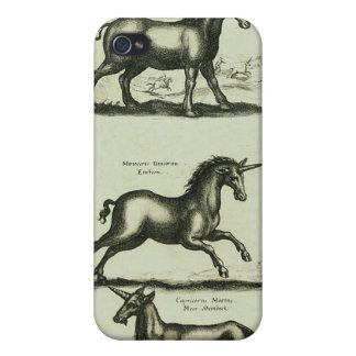 Unicornios iPhone 4 Carcasas