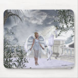 Unicornios Mousepad de Fae de los ángeles Tapete De Raton