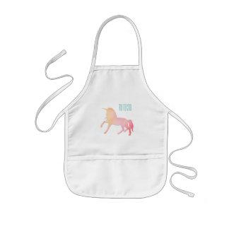 Unicornios obsession kids' apron
