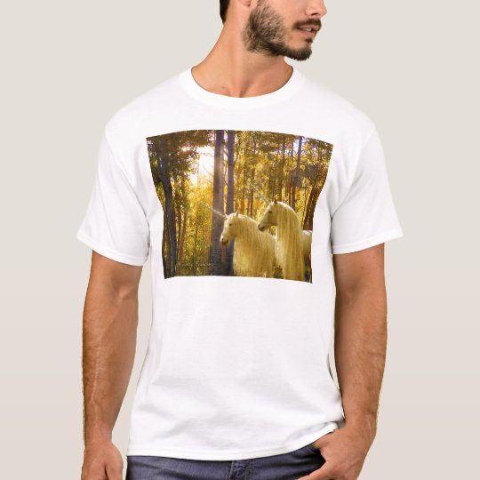 Unicorns and Fall Colors T-Shirt