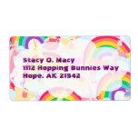 Unicorns and Rainbows Label Shipping Label