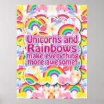 Unicorns and Rainbows The Poster!